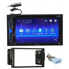 2004-2005 Saturn All-Models Pioneer DVD/CD Bluetooth Receiver iPhone/Android/USB