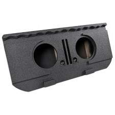 "Dual 12"" Vented Subwoofer Box For 02-13 Chevy Avalanche, Cadillac Escalade EXT"