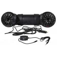 "Boss Audio ATV25B Dual 6.5"" Off Road ATV/UTV Jeep Powered Sound System + Remote"