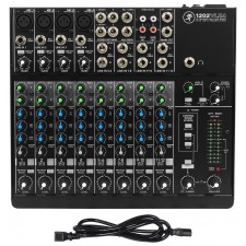 Mackie 1202VLZ4 12-channel Compact Analog Low-Noise Mixer w/ 4 ONYX Preamps