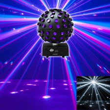 American DJ ADJ Starburst LED Sphere Multi Color Shooting Beam Lighting Effect
