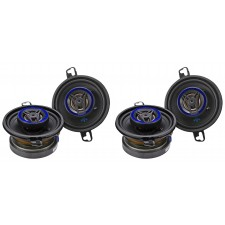 "(4) AUTOTEK ATS35CX 3.5"" 600 Watt Coaxial 2-Way Car Audio Speakers"