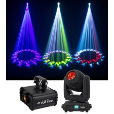 Chauvet DJ Intimidator Beam 140SR Moving Head Beam Club/Stage Light+Effect Light