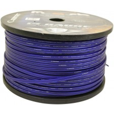 Cadence 14 AWG Gauge 25 Foot Blue Car Speaker Wire, True Gauge Wire