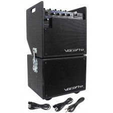 Vocopro Mobile Man Battery Powered Portable PA Audio System+Subwoofer MOBILEMAN