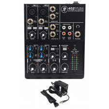 Mackie 402VLZ4 4-channel Compact Analog Low-Noise Mixer w/ 2 ONYX Preamps