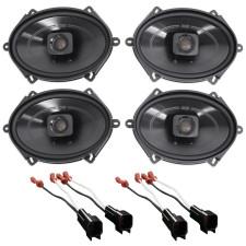 "1999-2002 Lincoln Navigator Polk 5x7"" Front+Rear Speaker Replacement Kit"