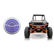 "Rockville MS12LS 12"" 2800w 12"" Subwoofer w/LED+Remote Polaris ATV/UTV/RZR/Cart"