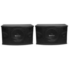 """Pair Rockville KPS10 10"""" 3-Way 1200 Watt Karaoke Speakers+Wall Brackets / MDF!"""