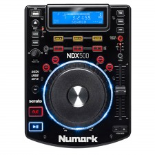Numark NDX500 Single DJ Tabletop USB/CD Media Player and Software Controller