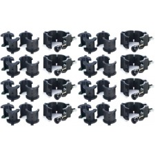"(8) Chauvet CLP10 CLP-10 360°  Wrap Around ""O"" Clamps For Light Mounting"