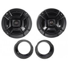 1998-2013 Harley Davidson FLHT FLHTC Polk Audio Factory Speaker Replacement Kit