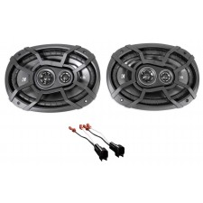 2003-2011 Lincoln Town Car Rear Kicker Factory Speaker Replacement Kit