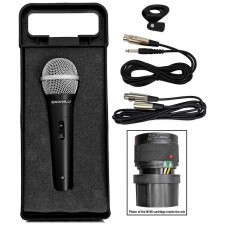 Rockville RMC-XLR High-End Metal Handheld Wired Microphone Mic Amazing Sound!