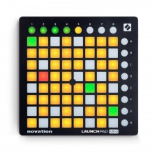 Novation LAUNCHPAD MINI MK2 MKII USB MIDI DJ Controller+Mic+Headphones
