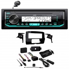 2014-2018 Harley Davidson JVC Digital Media Bluetooth Receiver+Full Install Kit