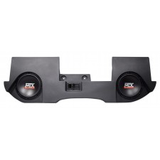 "Dual 10"" MTX Subwoofers+Sealed Enclosure Box For 2002-16 Dodge Ram Quad/Crew Cab"