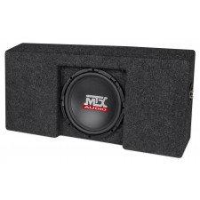 """10"""" MTX Subwoofer+Sub Box Enclosure For 2009-15 Ford F-150 SuperCrew Cab Loaded"""