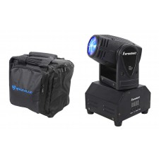 FARENHEIT FH10MH DMX LED Moving Head Beam Club Stage Party Light+Carry Bag