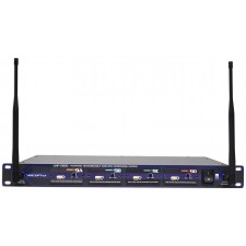 Vocopro UHF-5805-4 Wireless 4-Ch Handheld Microphones+Free Home Theater System