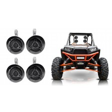 "(4) Memphis Audio MXA52T 5.25"" 100w Swivel Tower Speakers For RZR/ATV/UTV/Cart"