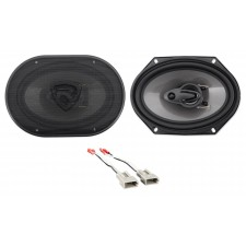 """Front Rockville 6x8"""" Factory Speaker Replacement Kit For 93-97 Mazda MX6"""