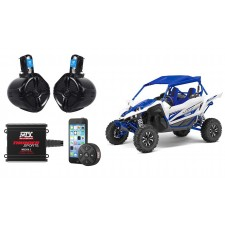 MTX Audio Bluetooth Controller+Tower Speakers+2-Channel Amplifier For Yamaha YXZ