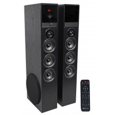 Tower Speaker Home Theater System w/Sub For Samsung Q6F Television TV-Black