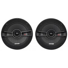 "(2) Kicker 44KSC6504 6.5""+(2) 44KSC504 5.25"" Car Speakers+4-Ch Amplifier+Amp Kit"
