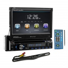 """Planet Audio P9759B 7"""" In-Dash Monitor DVD Player+Bluetooth+License Plate Camera"""