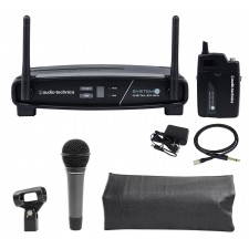 Audio Technica ATW-1101/G System 10 Wireless Guitar/Bass/Inst System+Free AT Mic