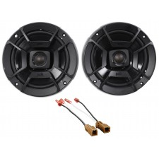 "Polk Audio Rear Deck 6.5"" Speaker Replacement Kit For 02-06 Nissan Altima Sedan"