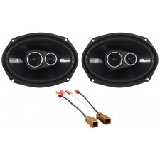 "Kicker Rear Panel 6x9"" Speaker Replacement Kit For 2000-2004 Nissan Xterra"