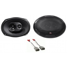 """240W 6x9"""" MTX Rear Deck Speaker Replacement Kit For 2009-2014 Acura TL"""