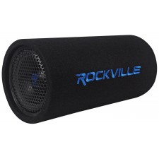 """Rockville RTB80A 8"""" 400w Powered Subwoofer Bass Tube + Bass Remote"""