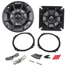 "Pair Kicker 40PS42 4"" 60W 2 Ohm ATV/Motorcycle Speakers Fits Honda Goldwing PS4"
