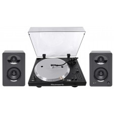 Numark NTX1000 DJ Turntable + Samson Powered Reference Monitors Speakers