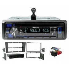 Kenwood CD Radio Receiver w/Bluetooth iPhone/Android/ For 2000-2001 Audi A4/S4