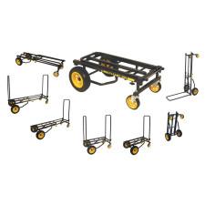 RocknRoller R10RT MultiCart R10 500lb Capacity DJ PA Equipment Transport Cart