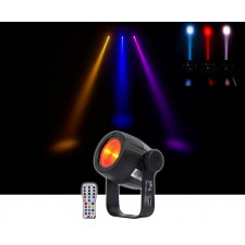 Chauvet DJ LED Pinspot 3 Club Mirror Ball Spot Light w/Dimmer+Gel Pack+Remote