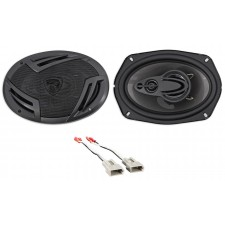 Rear Rockville Factory Speaker Replacement Kit For 1992-97 Mercury Grand Marquis