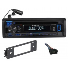 Kenwood 1-Din CD Radio Receiver w/Bluetooth iPhone/ For 2002-05 Hyundai Accent