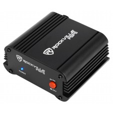 Rockville PSP5 Universal 48V Phantom Power Supply Box For Condenser Microphones