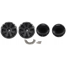 "Pair Of Kicker 6.5"" Wakeboard Component Speakers+4 Channel Amplifier+Amp Kit"