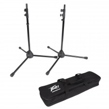 Pair Peavey Speaker Stands & Adapters for Messenger - Works Only For Messenger