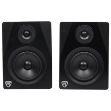 """Pair Rockville APM5B 5.25"""" Gaming Twitch Streaming Computer Speakers Monitors"""