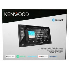 """6.2"""" In-Dash Kenwood DVD Monitor/Player Receiver w/Bluetooth+For 99-00 Honda Civic"""