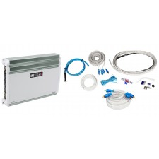 MB QUART NA360.4 360w RMS Nautic Series 4-Channel Marine Boat Amplifier+Amp Kit