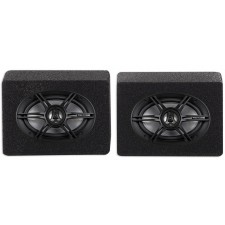 (2) RE Audio REX6.9 6x9 400 Watt 3-Way Car Speakers+(2) Sealed Enclosures REX69