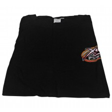 """XS Power Large Black Cool T-Shirt With LG 12"""" XS Power Logo on Back"""